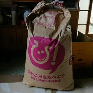 滋賀県産 キヌヒカリ 30キロ(米/穀物)