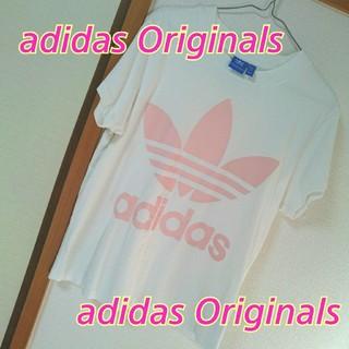 アディダス(adidas)のadidas Originals★ビッグロゴTシャツ★男女兼用*ユニセックス(Tシャツ(半袖/袖なし))