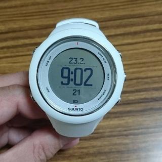 スント(SUUNTO)のSUUNT AMBIT3 SPORT White スント 時計(その他)