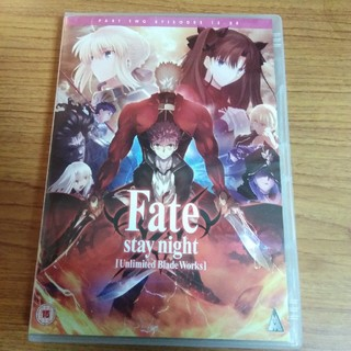 Fate unlimited blade works 13-25話 日本+英語版(アニメ)