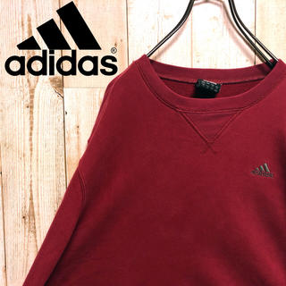 アディダス(adidas)の90s アディダス スウェット Lサイズ ロゴ adidas(スウェット)