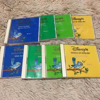 ディズニー(Disney)のディズニー イングリッシュ CD 8枚 未開封ありKIKI様専用(キッズ/ファミリー)