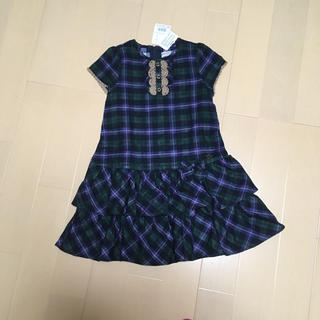 ミキハウス(mikihouse)のミキハウス フォーマルワンピース 130(ドレス/フォーマル)
