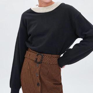 ザラ(ZARA)の Zara sweatshirt (トレーナー/スウェット)