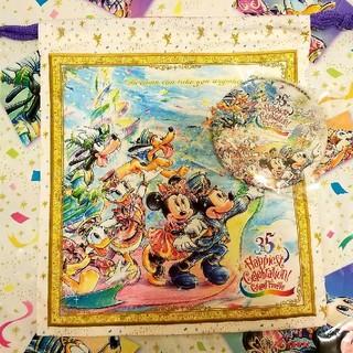 Disney - グランドフィナーレ 巾着 缶バッジ セット
