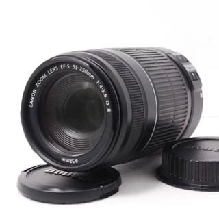 キヤノン(Canon)の❤️Canon望遠レンズ❤️手ぶれ補正❤️キャノン 55-200mm IS Ⅱ(レンズ(ズーム))