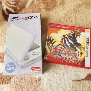 ニンテンドウ(任天堂)のNintendo 2DS LL  ポケットモンスターオメガルビー(携帯用ゲームソフト)