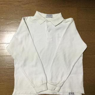 子供白ポロシャツ、130(ドレス/フォーマル)