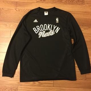 アディダス(adidas)のNBA BROOKLYN NETS バスケTシャツ(バスケットボール)