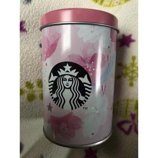 スターバックスコーヒー(Starbucks Coffee)のスターバックス 2019年桜 クランチチョコ缶のみ(小物入れ)