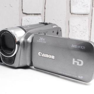 キヤノン(Canon)の★超美品★Canon ivis HF R21 HD ビデオカメラ(ビデオカメラ)