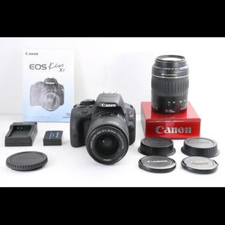 キヤノン(Canon)のCanon EOS Kiss X7 豪華望遠Wレンズセット(デジタル一眼)