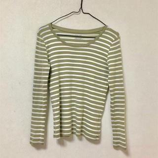 ジーユー(GU)のボーダーロンT(Tシャツ(長袖/七分))