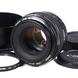 キヤノン(Canon)の❤単焦点レンズ Canon EF 50mm F1.4 USM ❤フィルター付(レンズ(単焦点))