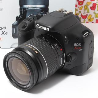 キヤノン(Canon)の❣️初心者最適・wifi機能❣️Canon EOS KISS X4 レンズキット(デジタル一眼)