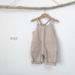 新品 ポケットサロペット オーバーオール キッズ 女の子 男の子 春夏秋冬(パンツ/スパッツ)