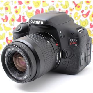 キヤノン(Canon)の❤️自撮り、Wi-Fi機能つき❤️EOS Kiss X5  レンズキット♫(デジタル一眼)
