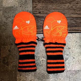アディダス(adidas)のミトン手袋🧤(手袋)