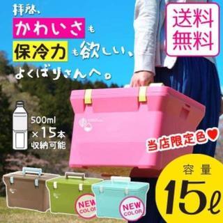 クーラーボックス クーラーバッグ  15L ピクニック レジャー 保冷バッグ (その他)