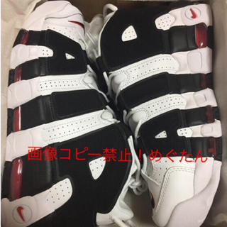 NIKE - 確実正規!ナイキ NIKE AIR MORE UPTEMPO モアテン