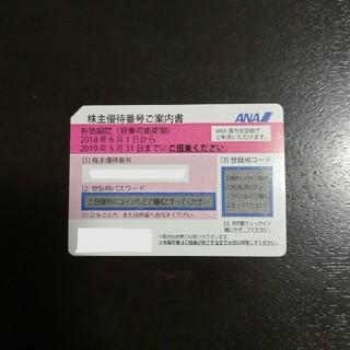 ANA 株主優待券 ~2019/5/31 1枚(航空券)