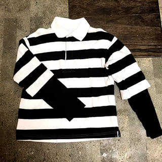 ジーユー(GU)の重ね着風ポロシャツ👕140(Tシャツ/カットソー)
