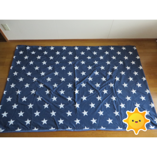 シマムラ(しまむら)の敷き布団カバー★シーツ.ダブルロングサイズ.IKEA.ニトリ(シーツ/カバー)