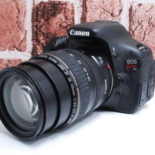 キヤノン(Canon)の★使いやすくて高画質★Canon EOS KissX5 レンズセット★(デジタル一眼)