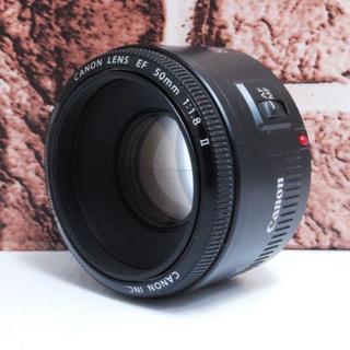 キヤノン(Canon)の【神レンズ】単焦点レンズ Canon用 50mm f1.8(レンズ(単焦点))