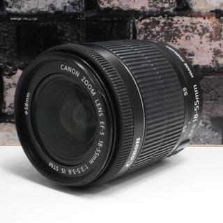 キヤノン(Canon)の【美品】Canon EF-S 18-55mm IS STM レンズ(レンズ(ズーム))