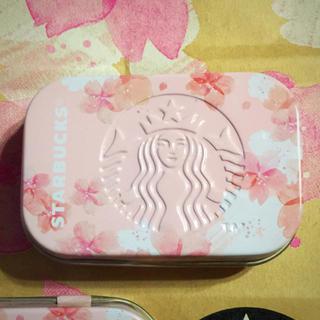 スターバックスコーヒー(Starbucks Coffee)のスタバ アフターコーヒーミント さくら 桜 さくらフル サクラ スターバックス(菓子/デザート)