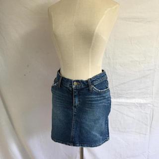 ブルームーンブルー(BLUE MOON BLUE)のデニムミニスカート(ミニスカート)