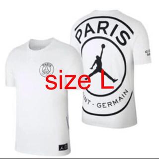 ナイキ(NIKE)のPSG パリ・サンジェルマン JORDAN ジョーダン size L(Tシャツ/カットソー(半袖/袖なし))