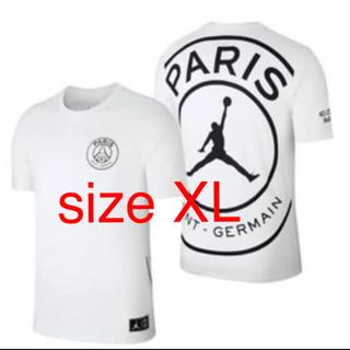 ナイキ(NIKE)のPSG パリ・サンジェルマン JORDAN ジョーダン size XL(Tシャツ/カットソー(半袖/袖なし))