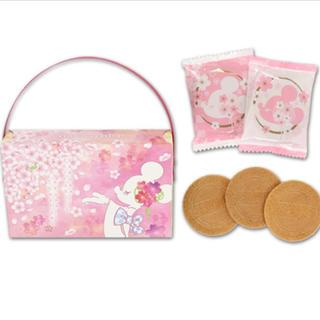 ディズニー(Disney)の桜 ゴーフル ディズニー サクラモチーフ(菓子/デザート)