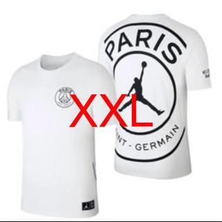 ナイキ(NIKE)のPSG パリ・サンジェルマン JORDAN ジョーダン size XXL(Tシャツ/カットソー(半袖/袖なし))
