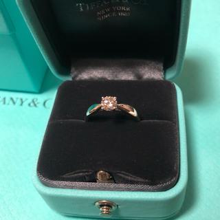 ティファニー(Tiffany & Co.)のTiffany 0.37ct 鑑定書付(リング(指輪))