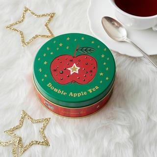 アフタヌーンティー(AfternoonTea)の新品未開封 アフタヌーンティー ダブルアップルティー ティーバッグ缶 8個入り(茶)