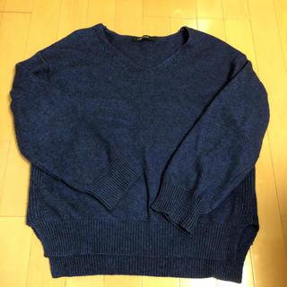 テチチ(Techichi)のルノンキュール ニットセーター ブルー(ニット/セーター)
