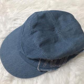デニム 帽子(キャスケット)