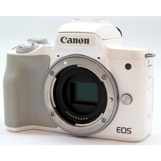 キヤノン(Canon)のCanon キヤノン EOS Kiss M ホワイト(ミラーレス一眼)