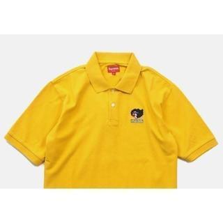 シュプリーム(Supreme)のSupreme Gonz Ramm Polo 黄 Yellow M 17fw(ポロシャツ)