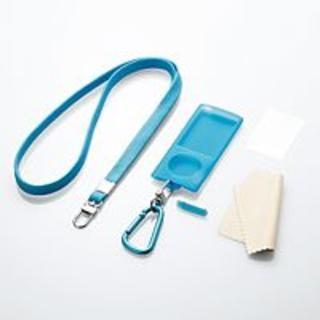エレコム(ELECOM)の5th iPod nano用スターティングセット ブルー(ポータブルプレーヤー)