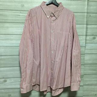 ユニクロ(UNIQLO)の古着 ビンテージ  ストライプシャツ(シャツ)