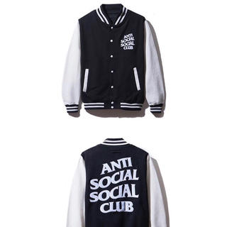 アンチ(ANTI)のANTI SOCIAL SOCIAL CLUB BASE BALL JACKET(ブルゾン)