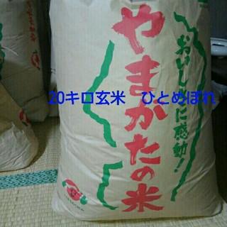 30年度産ひとめぼれ20キロ(米/穀物)