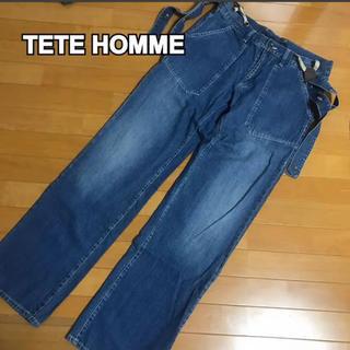 テットオム(TETE HOMME)の❹ TETE HOMME メンズ デニムパンツ(テットオム)(デニム/ジーンズ)