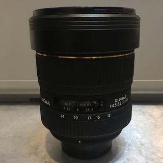 シグマ(SIGMA)のNikon用 シグマ SIGMA 12-24mm F4.5-5.6 DG HSM(レンズ(ズーム))
