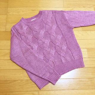 テチチ(Techichi)の美品 テチチテラス ニット セーター(ニット/セーター)