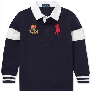 ポロラルフローレン(POLO RALPH LAUREN)の☆新品購入品☆ラルフローレンビッグポニーラガーシャツM/150(Tシャツ/カットソー)